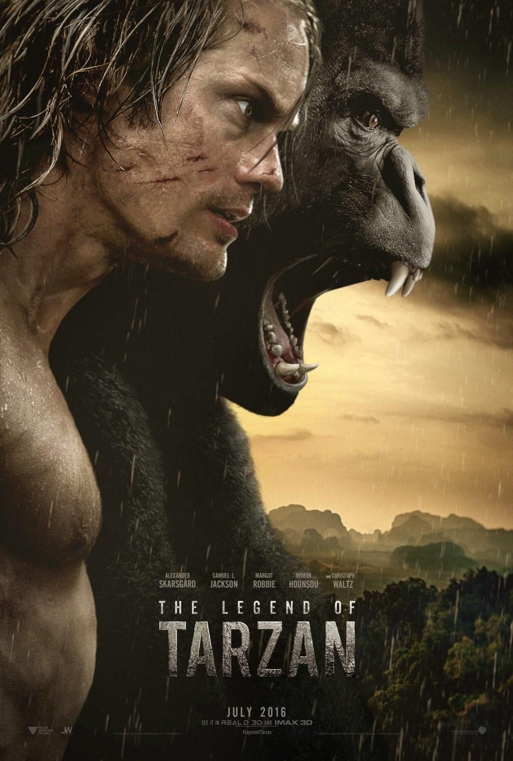 زیرنویس فیلم The Legend of Tarzan 2016