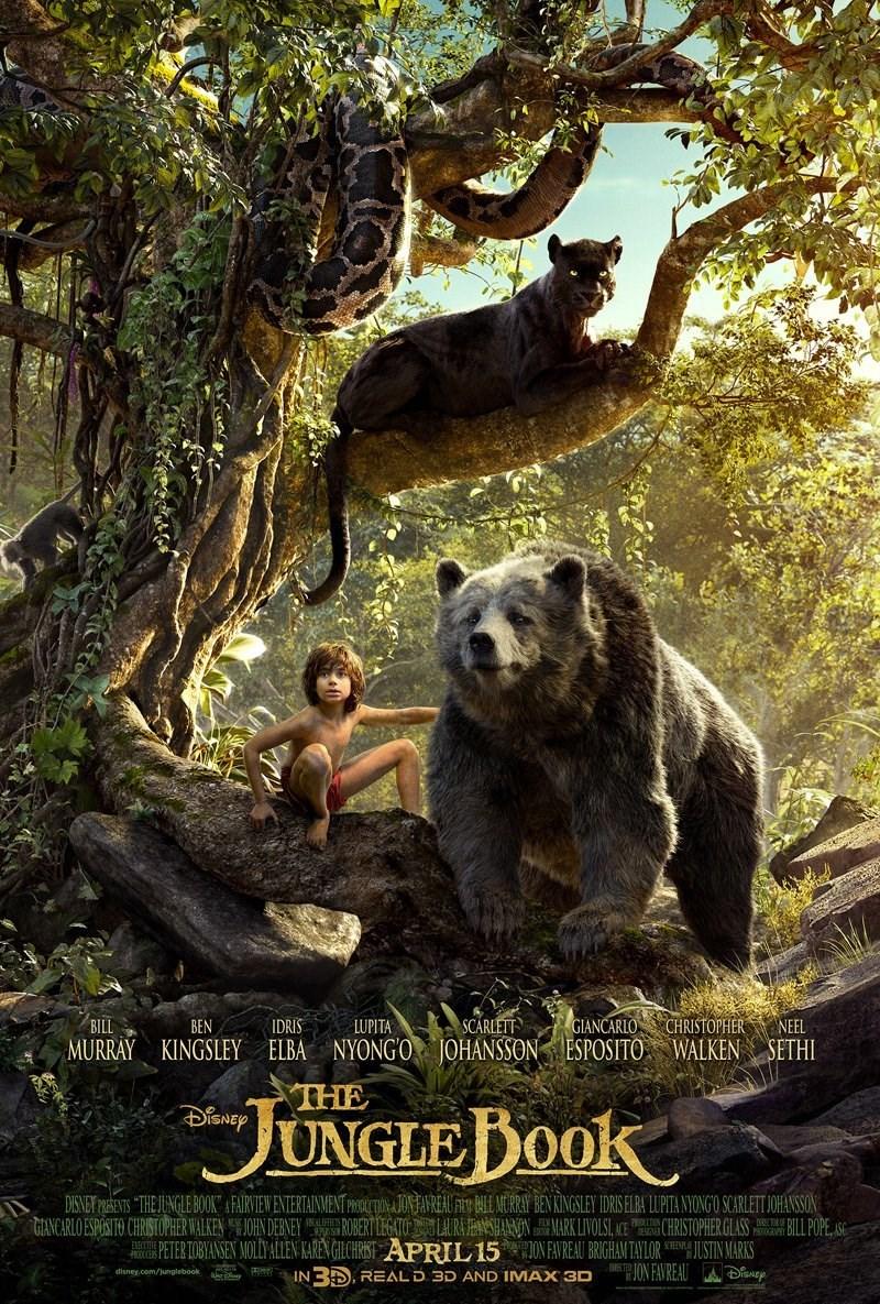 زیرنویس فیلم The Jungle Book 2016