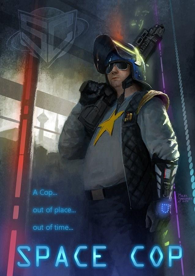 زیرنویس فیلم Space Cop 2016