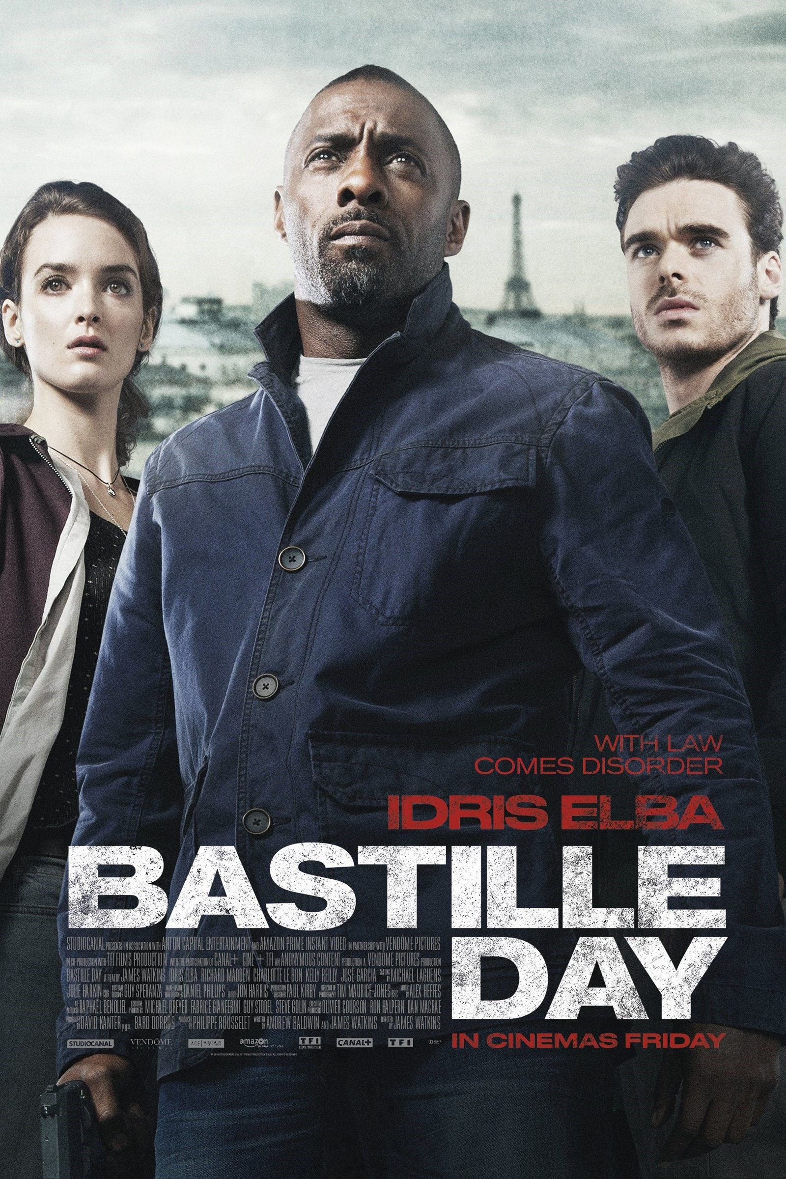 زیرنویس فیلم Bastille Day 2016