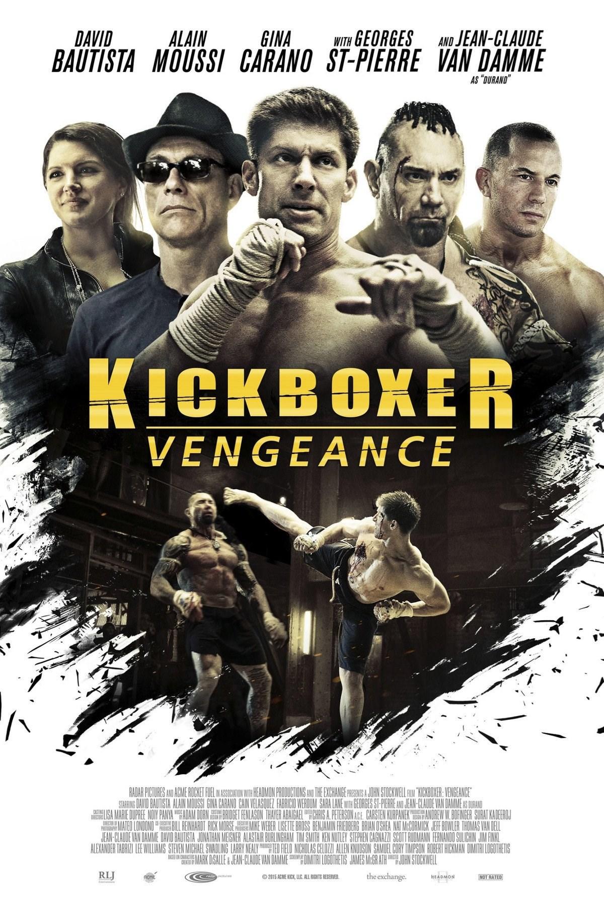 زیرنویس فیلم Kickboxer: Vengeance 2016