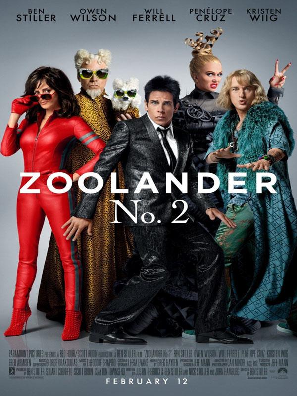 زیرنویس فیلم Zoolander 2 2016