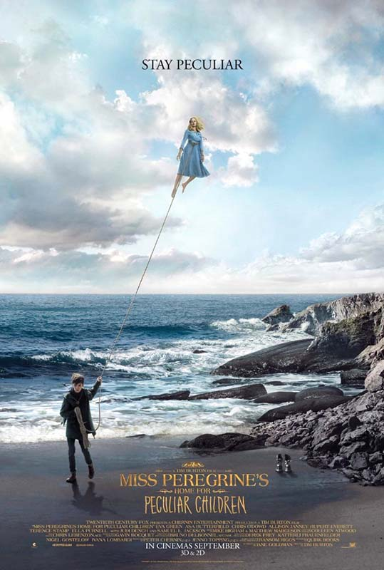 زیرنویس فیلم Miss Peregrines Home for Peculiar Children 2016