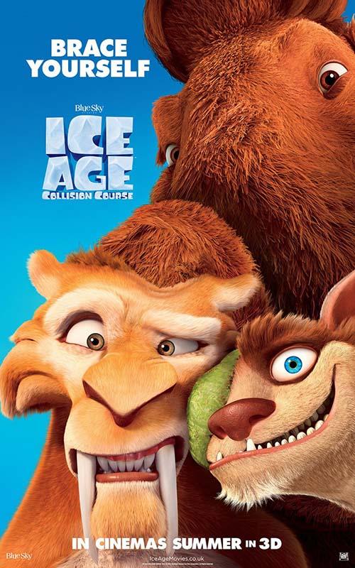 زیرنویس انیمیشن Ice Age Collision Course 2016