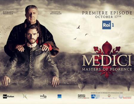 دانلود زیرنویس فارسی سریال Medici: Masters of Florence
