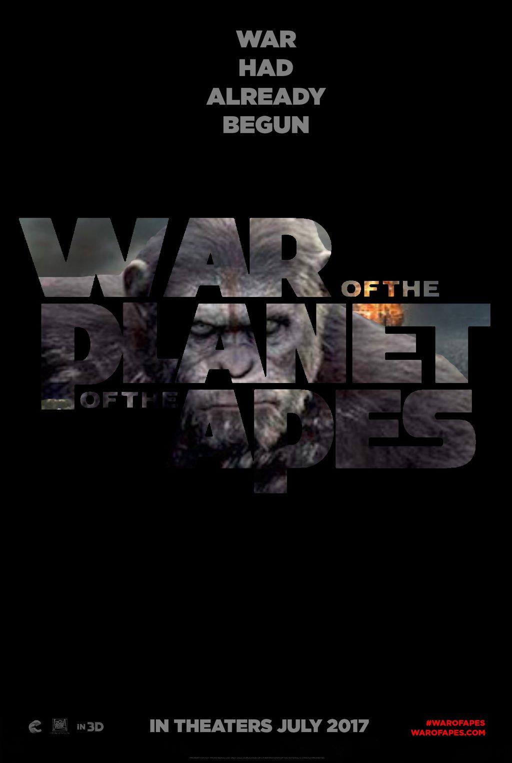 دانلود زیرنویس فارسی فیلم War for the Planet of the Apes 2017