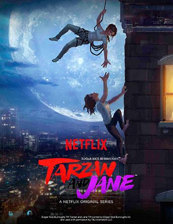 دانلود زیرنویس فارسی سریال Tarzan and Jane